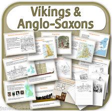 KS2 storia VIKING & anglosassone lotta per l'Inghilterra risorse di insegnamento CD