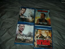 Die Hard 1 3 4 5 BLU-RAY DVD LOT SET