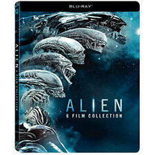 Alien PACK SAGA COMPLETA Blu-Ray 6 PELICULAS CASTELLANO STEELBOOK