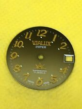 VINTAGE ORIGINALE VIALUX Swiss Watch Quadrante Movimento 26.00mm qualità #WD135#