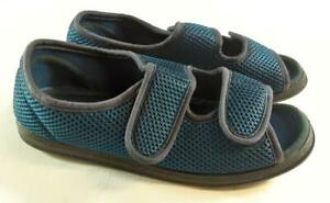 Coopers Ladies Blue Freedom Shoes Size 8EE (Wide) Adjustable. New