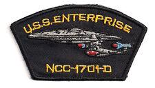 """Star Trek 6"""" Enterprise 1701-D Large Uniform Patch- FREE S&H (STPAT-1701D-Lg)"""