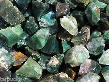 1/2 lb MOSS AGATE  Bulk Tumbling Rough Rock Stones Healing Crystals FS