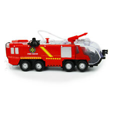 Fire Truck Rescue Fighters Vehicle Lights Sounds Water Pump For Kids Toy Gift