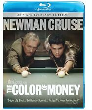 THE COLOR OF MONEY (25th Anniversary Edit-  Blu Ray - Sealed Region free for UK