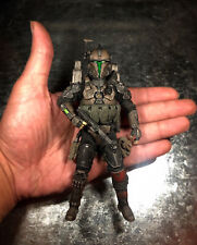 Custom Black series 6? Mandalorian Action Figure (Fabric Build)