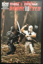 Snake Eyes #8 2011 Action Figure Variant IDW Comic Book GI Joe Storm Shadow