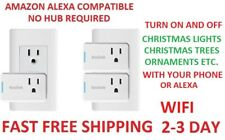 2 Pack KeeWifi/Kisslink Sp200Kit Wi-Fi Smart Plug Mini kisslink Amazon Alexa New