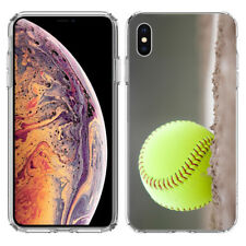 For Apple iPhone X Softball Hard Cover Case Phone Protector