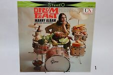 Manny Albam and his Orchestra Drum Feast Percussion LP United Artist 1959 Cool