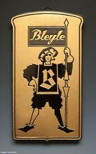 ALTES Pappschild BLEYLE wohl um 1935