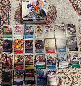 Digimon BT5 TCG RARE Foil Tamer Uncommon & Common + More! Bulk 200 + CARDS