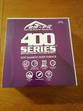 REM FIT 400 Waterproof Fitted Sheet Soft Bamboo KING SIZE