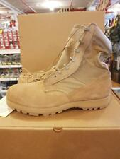 DESERT TAN COMBAT BOOTS BY  BELLEVILLE W/ VIBRAM SOLE US. MILITARY NEW 15 W (3F)