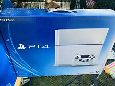 (BOX ONLY) Sony PlayStation 4 PS4 500gb Glacier White Console Destiny Edition