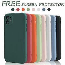 Silicone Case For iPhone 12 Pro Max 11 XR SE 20 Soft Genuine Liquid Rubber Cover