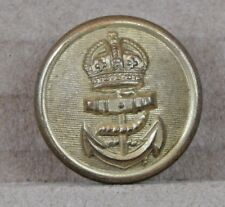 WW1 Royal Navy Officers Button Gilt Firmin London 23mm