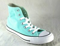 CONVERSE ALL STAR CHUCK TAYLOR 157609F HI LIGHT AQUA CANVAS UNISEX SNEAKER