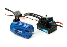 Kinexsis 1/10 4-Pole 4000Kv Brushless WP ESC / Motor Combo Slash SC10 Stampede