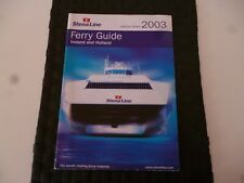 STENA LINE FERRY GUIDE TRAVEL IRELAND & HOLLAND 2003 BROCHURE *AS PICTURES*