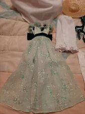 Franklin Mint Scarlett O'Hara Barbeque Outfit Only Gwtw