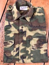 Houston Made ERDL Poplin Camouflage Shirt Vietnam War Repro