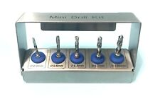 Dental Implant Mini 5 Pcs Drill Kit Silver Grafting Tissue Kit Set NEW