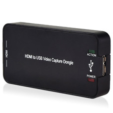 HDMI Video Capture with USB3.0/2.0 in 1080P , Record Card Box Capture PC