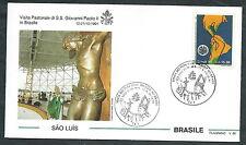 1991 VATICANO VIAGGI DEL PAPA BRASILE SAO LUIS - SV2