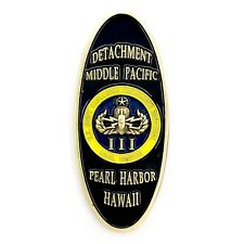US Navy Explosive Ordinance Disposal Pearl Harbor Hawaii Bomb SQ Challenge Coin!