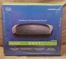 New LINKSYS By Cisco Wireless G Broadband Router Model WRT54G2 Wi-Fi