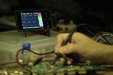 DS202 Mini 1MHz 2-channel Digital Oscilloscope USB Interface Full Color TFT WISH