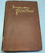 Antique 1883 Doctrines Of The New Church Benjamin Fiske Barrett