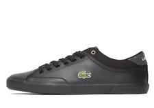 Lacoste Leather Herren Sneaker SCHUHE Leder schwarz Angha 417 Misano Gr 42