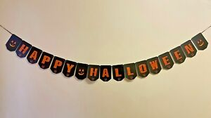 Happy Halloween Bunting Party Decoration Banner Trick or Treat Boo Danger HB91i