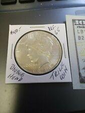 Silver Dollar Liberty Double Headed Batman Two Headed Sided Magic Coin