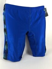 Nike Performance Competition Swimsuit Men's Polyester Spandex Color Choice Sz 38