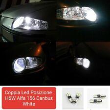 COPPIA LUCI POSIZIONE 24 LED PER ALFA ROMEO GT H6W CANBUS 100% NO ERRORE