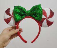 Disney Parks Mickey Minnie Mouse Lollipop Ears Headband