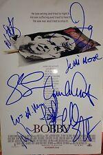 BOBBY KENNEDY CAST SIGNED 8X12 PHOTO DEMI MOORE ASHTON KUTCHER SHARON STONE +6