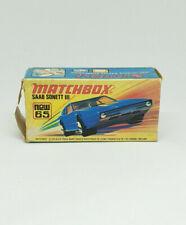 MATCHBOX SUPERFAST No.53 SAAB SONNET III, EMPTY BOX