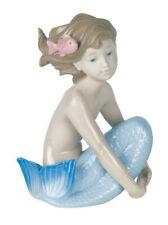 Nao By Lladro Sea Maiden #1459 Brand Nib Girl Mermaid Fantasy Cute Save$ F/Sh