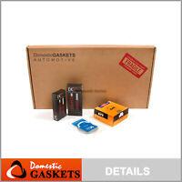 Fits 90-01 Acura Integra 1.8L Full Gasket Set+Bearings Rings B18A1 Re-Ring Kit