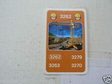 32 PLAYMOBIL BUILDERS KWARTET KAART SET OF 4 CARDS, QUARTETT CARD,3262