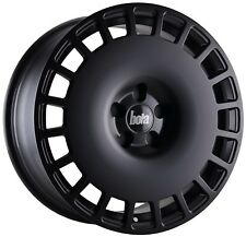 "18"" BOLA B12 ALLOY WHEELS AND TYRES VW GOLF CADDY TOURAN PASSAT 5X112 MATT BLACK"