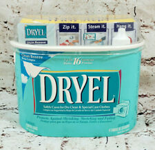 Dryel At Home Dry Cleaning New Starter Kit 4 Loads 16 Garments Fabric Care NEW