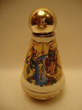 Orthodox & Catholic Gold Icon Ceramic The Baptism Jesus & POPE Holy Water Bottle