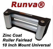 "New Runva Heavy Duty Universal Winch Roller Fairlead 10"" Mounting Pattern"