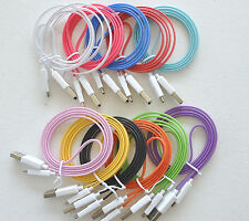 HOT LED MICRO USB el light glow charger cable FOR samsung galaxy s2 s3 s4 note 2