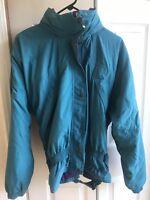VTG 90s Women's Helly Hansen Coat Jacket snowboard Helly Tech 3m thinsulate Lg